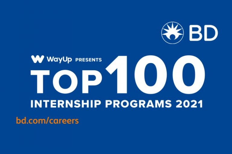 BD Has Been Recognized For Having One Of The 100 Best Internship Programs image