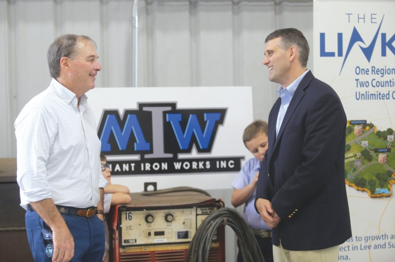 Sumter's Merchant Iron Works owner credits his mentors, employees in his journey to success image
