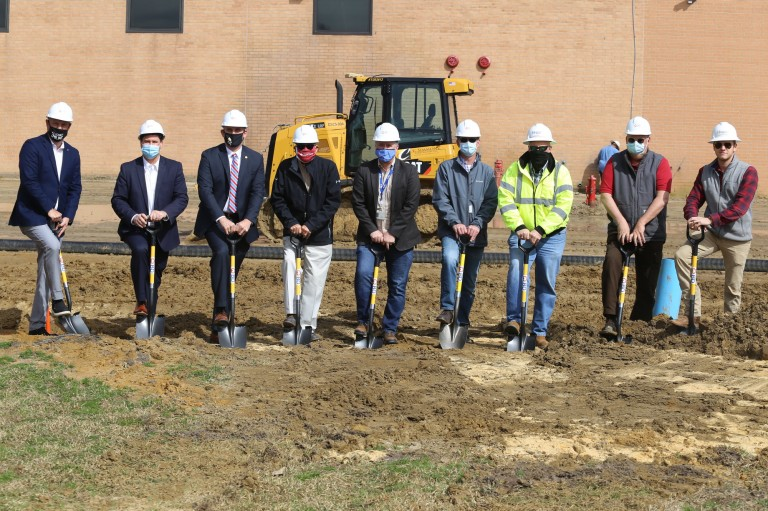 BD Breaks Ground for Phase 2 of Expansion Project image