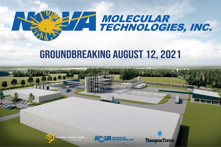 Nova Molecular to Break Ground on New Facility in Sumter, SC image