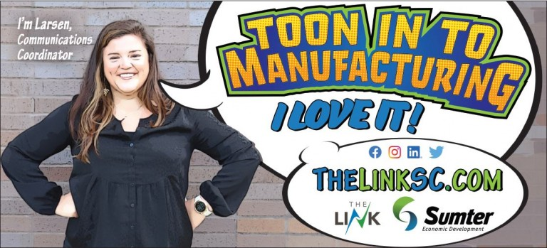 Toon in to Manufacturing - Larsen Cline image