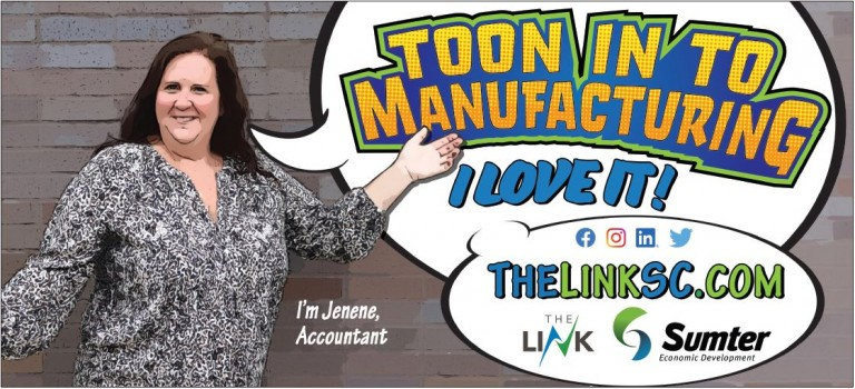 Toon in to Manufacturing - Jenene Morris image