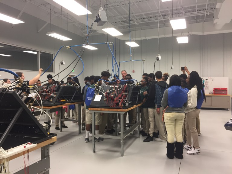 """More than 300 Students """"EXPO'sed to Manufacturing Industry image"""