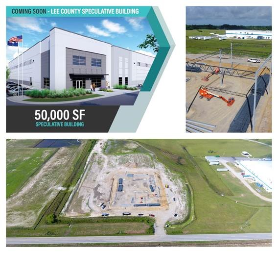 Coming Soon: Lee County Speculative Building image