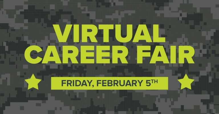 Virtual Career Fair for Shaw Air Force Base and the SC Military Community image